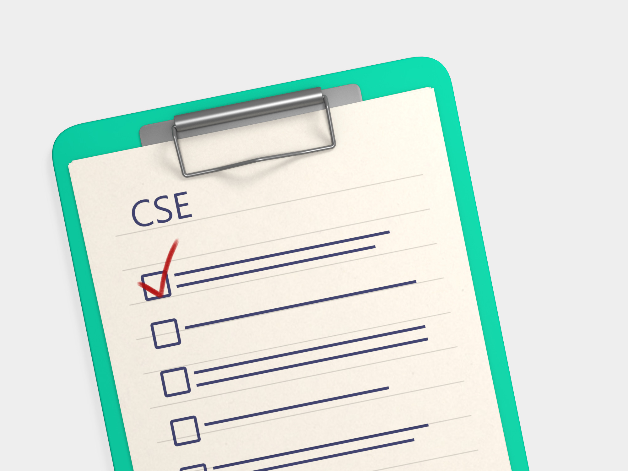 The 5 stages of creating a CSE